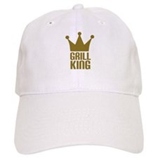 BBQ - Grill king Baseball Cap