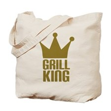 BBQ - Grill king Tote Bag