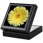 Yellow Gerbera Daisy Keepsake Box
