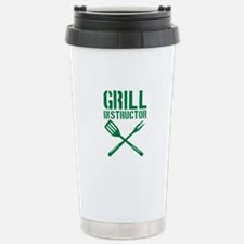 BBQ - Grill Instructor Travel Mug