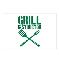 BBQ - Grill Instructor Postcards (Package of 8)