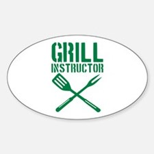 BBQ - Grill Instructor Decal