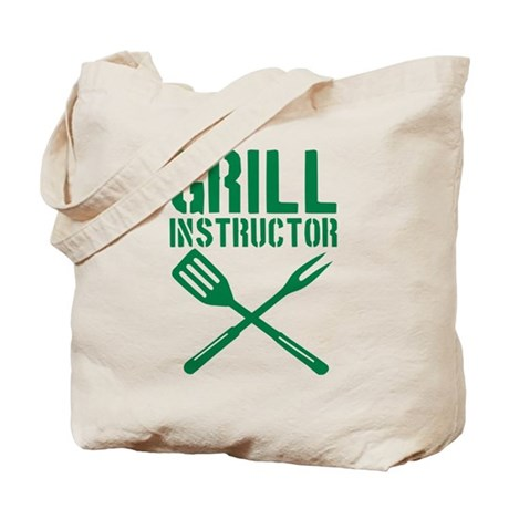 BBQ - Grill Instructor Tote Bag