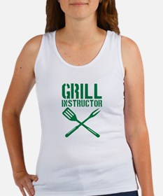 BBQ - Grill Instructor Women's Tank Top