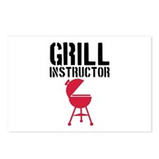Barbecue - Grill Instructor Postcards (Package of