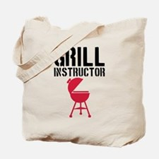 Barbecue - Grill Instructor Tote Bag