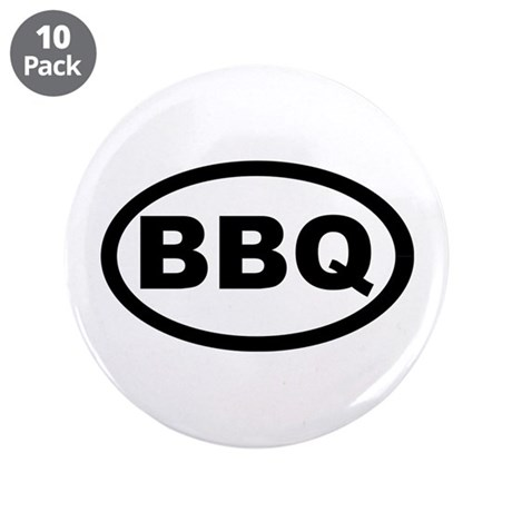"BBQ 3.5"" Button (10 pack)"