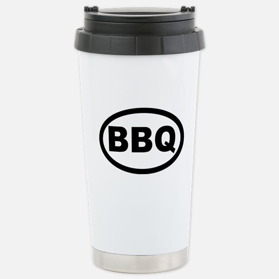 BBQ Stainless Steel Travel Mug