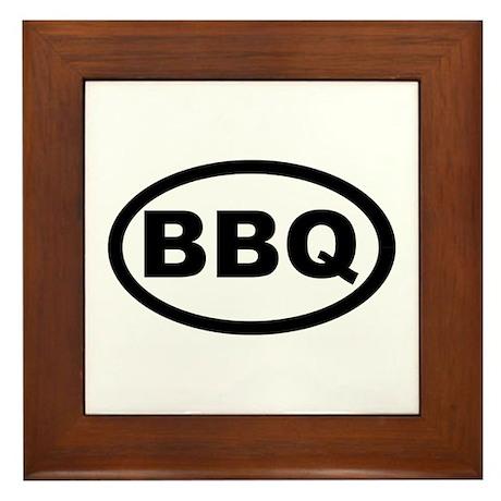 BBQ Framed Tile