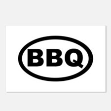 BBQ Postcards (Package of 8)