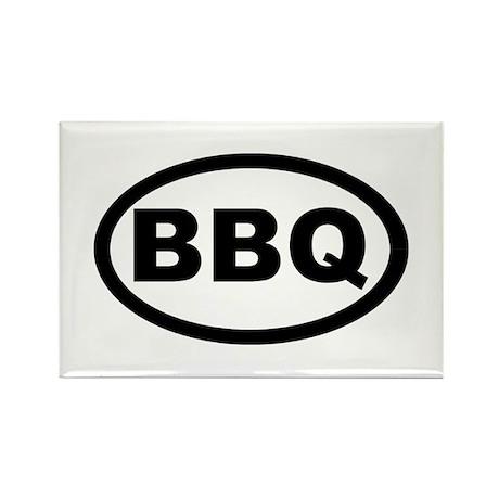 BBQ Rectangle Magnet