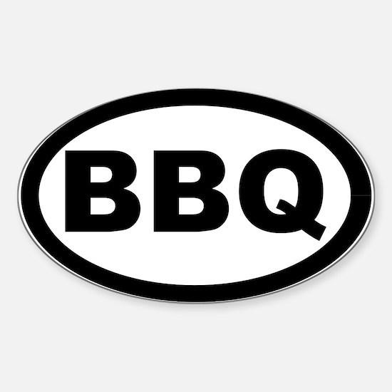 BBQ Sticker (Oval)