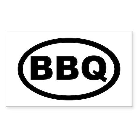 BBQ Sticker (Rectangle 50 pk)