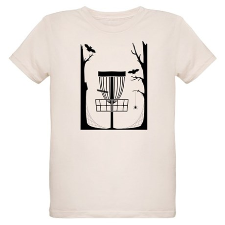Disc Golf Organic Kids T-Shirt