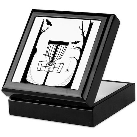 Disc Golf Keepsake Box