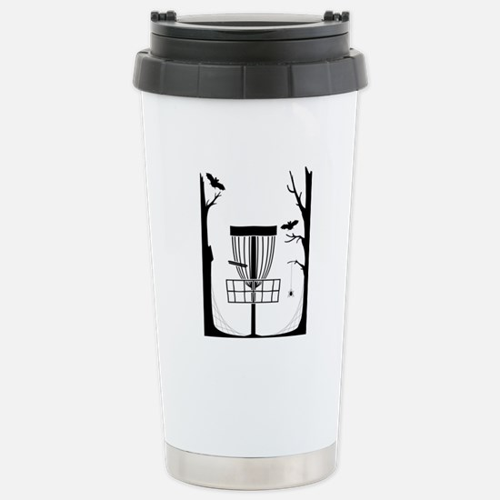 Disc Golf Stainless Steel Travel Mug