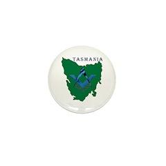 Tasmanian Masons Mini Button (100 pack)
