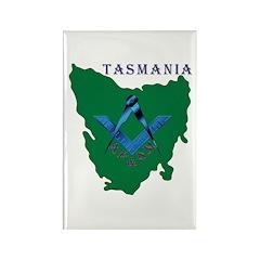 Tasmanian Masons Rectangle Magnet (10 pack)