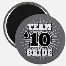 """Black 10 Team Bride 2.25"""" Magnet (10 pack)"""