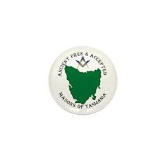 Tasmanian Masons Mini Button (10 pack)