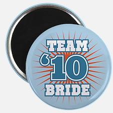 """Slate 10 Team Bride 2.25"""" Magnet (10 pack)"""