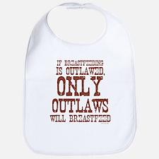 Breastfeeding Outlaw Bib