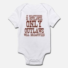 Breastfeeding Outlaw Infant Bodysuit