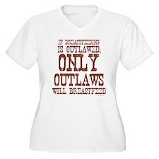 Breastfeeding Outlaw T-Shirt