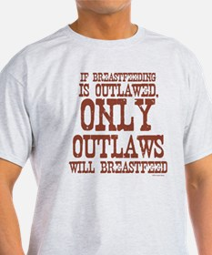 Breastfeeding Outlaw T-Shirt