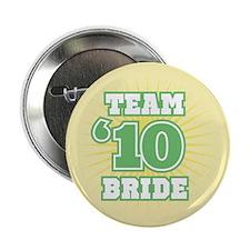 """Sage 10 Team Bride 2.25"""" Button"""