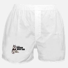 Siberian Husky Dad Boxer Shorts
