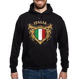 Italia Dark Hoodies