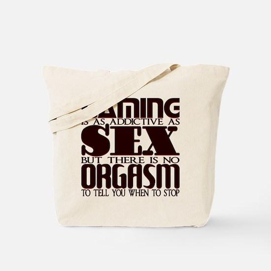 Gaming-Sex-Orgasm Tote Bag