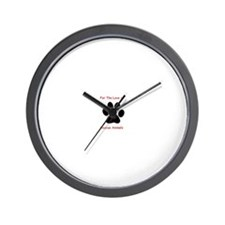 Cute Cat paw Wall Clock