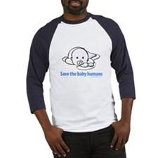 Save the baby humans - Baseball Jersey