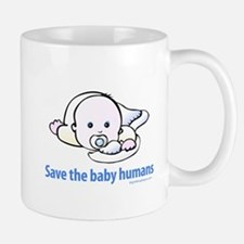 Save the baby humans - Mug