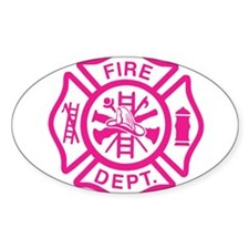 Female Firefighter Stickers