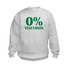 Meat - BBQ - 0% Vegetarian Sweatshirt