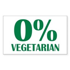 Meat - BBQ - 0% Vegetarian Decal