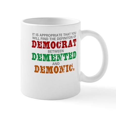 DEMOCRAT Definition Mug