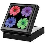 Four Color African Daisy Keepsake Box