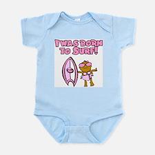 Born to surf Hannah Infant Creeper