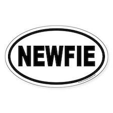 NEWFIE Newfoundland Euro Oval Decal