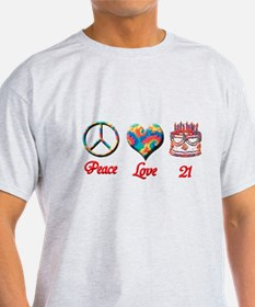Unique Peace love party T-Shirt