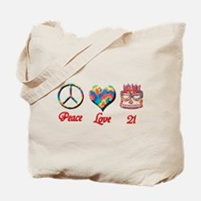 Unique 21st birthday Tote Bag