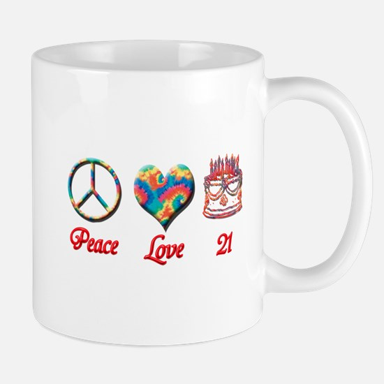 peace love 21 Mugs