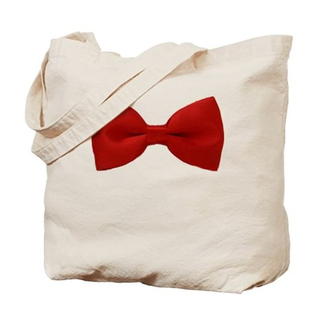 Red Bow Tote Bag