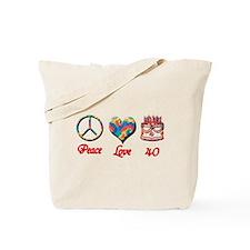 Unique 40th party Tote Bag