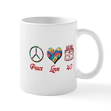 Unique Fortieth Mug