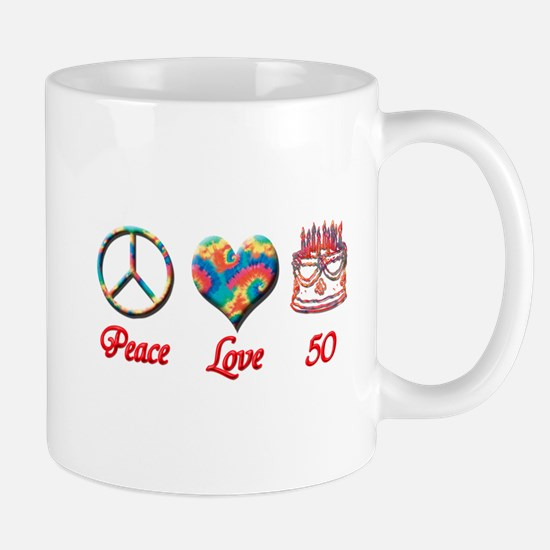 peace love 50 Mugs